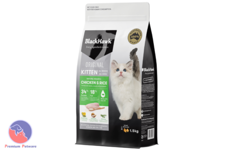 BLACK HAWK KITTEN CHICKEN & RICE FORMULA