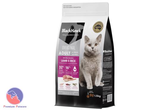 BLACK HAWK ADULT CAT LAMB & RICE