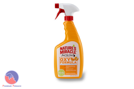 NATURES MIRACLE OXY ORANGE JUST FOR CATS 709ML