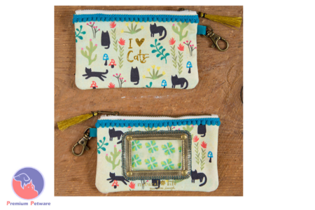 NATURAL LIFE ID POUCH - I LOVE CATS