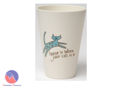 NATURAL LIFE SET OF 4 ACRYLIC CAT MOTIF CUPS