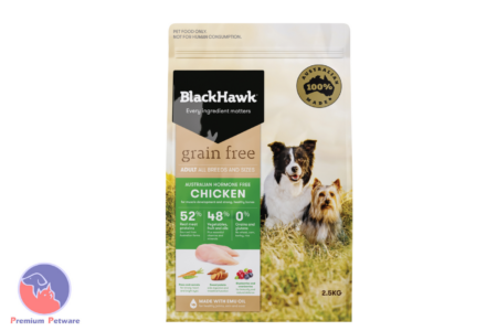 BLACK HAWK ADULT DOG GRAIN FREE CHICKEN FORMULA