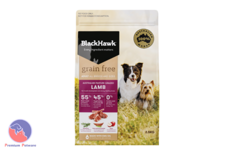 BLACK HAWK ADULT DOG GRAIN FREE LAMB FORMULA