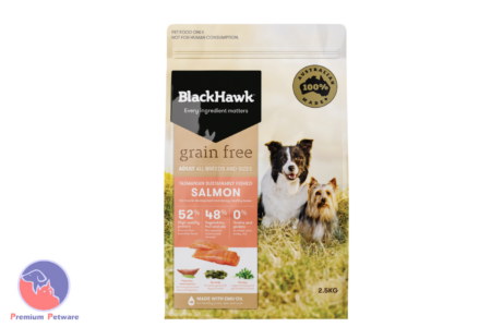 BLACK HAWK ADULT DOG GRAIN FREE SALMON FORMULA