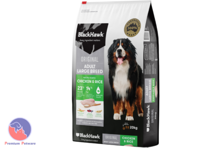 BLACK HAWK ADULT LARGE BREED DOG CHICKEN & RICE FORMULA