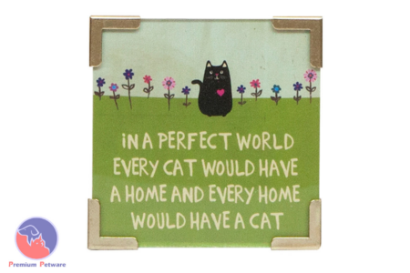 NATURAL LIFE CAT KEEPSAKE CORNER MAGNET