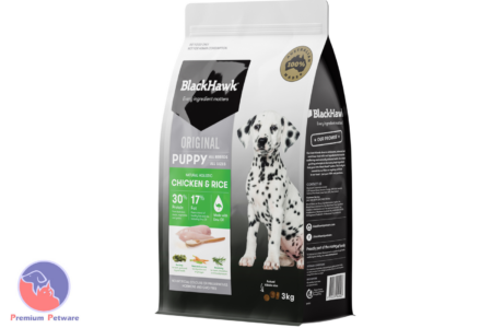 BLACK HAWK PUPPY CHICKEN & RICE