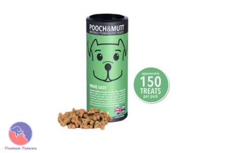 POOCH & MUTT MOVE EASY TREATS 125G
