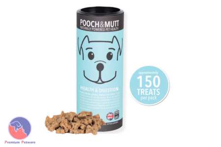 POOCH & MUTT HEALTH & DIGESTION TREATS 125G