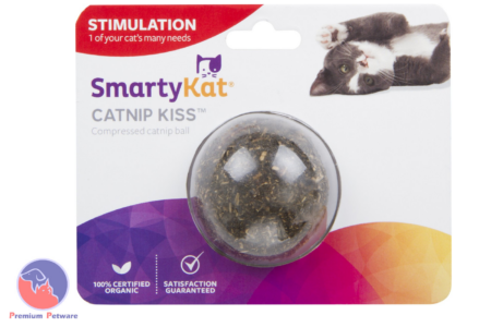SMARTYKAT COMPRESSED CATNIP BALL