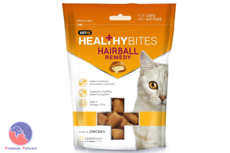 M&C VETIQ HEALTHY BITES HAIRBALL REMEDY 65G