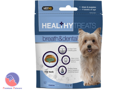 M&C VETIQ HEALTHY TREATS BREATH & DENTAL 70G