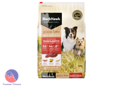 BLACK HAWK ADULT DOG GRAIN FREE KANGAROO FORMULA