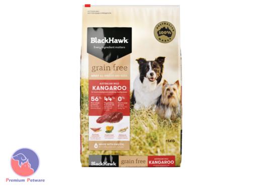 BLACK HAWK ADULT DOG GRAIN FREE KANGAROO FORMULA