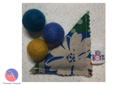 LITTLE LIONS FELTED WOOL BALL TOY SET