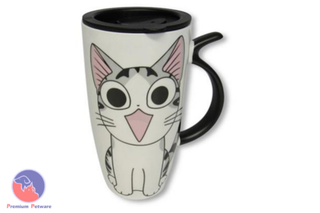 MUGS - HAPPY CARTOON CAT