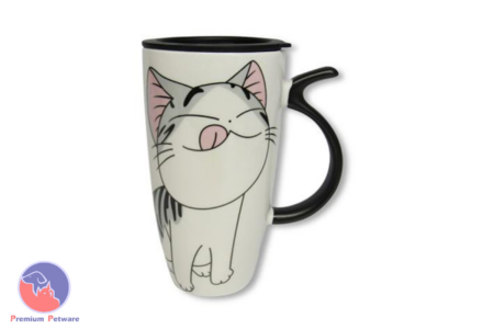 MUGS - LICKING CARTOON CAT