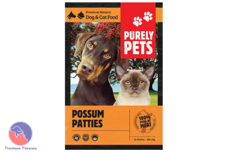 PURELY PETS FROZEN POSSUM PATTIES