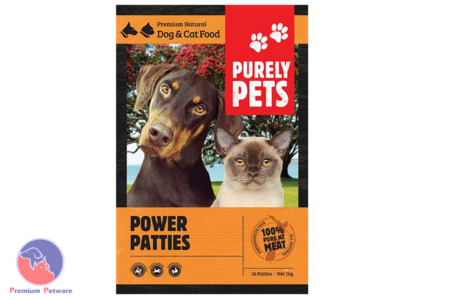 PURELY PETS FROZEN POWER PATTIES