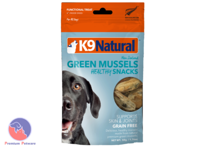 K9 NATURAL GREEN MUSSEL HEALTHY SNACKS 50G