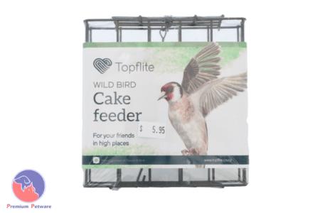 TOPFLITE WILD BIRD CAKE FEEDER