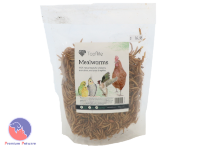 TOPFLITE DRIED MEALWORMS