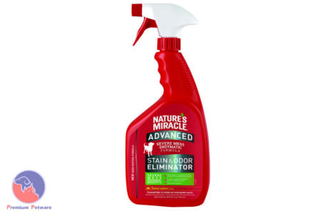 NATURES MIRACLE ADVANCED STAIN & ODOR REMOVER FOR DOGS - LEMON 946ML