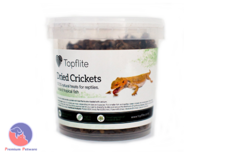 TOPFLITE DRIED CRICKETS