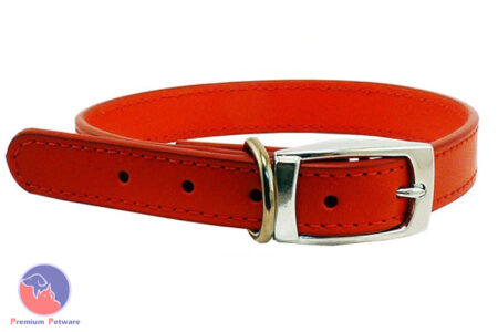 BEAU PETS STITCHED LEATHER COLLARS
