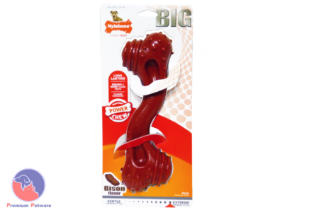 Nylabone Dura Chew Bison Textured Bone - Monster