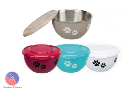 TRIXIE FRESH FEED BOWLS WITH LID
