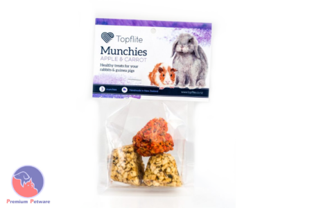 TOPFLITE MUNCHIES FOR RABBITS & GUINEA PIGS 3PK