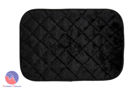 PRECISION PET SNOOZZY CRATE MATS - BLACK