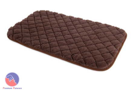 PRECISION PET SNOOZZY CRATE MATS - BROWN