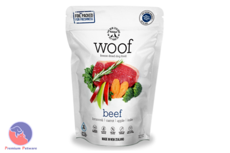 WOOF BEEF - PREMIUM DEHYDRATED DOG FOOD