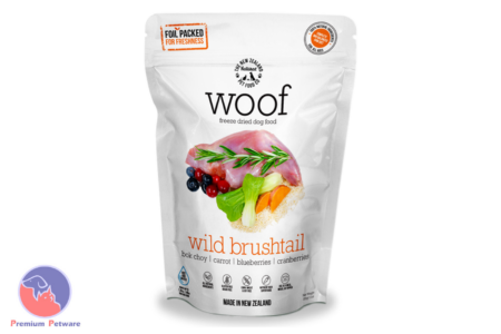 WOOF WILD BRUSHTAIL - PREMIUM DEHYDRATED DOG FOOD