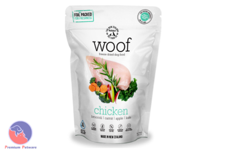 WOOF CHICKEN - PREMIUM DEHYDRATED DOG FOOD