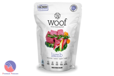 WOOF LAMB - PREMIUM DEHYDRATED DOG FOOD