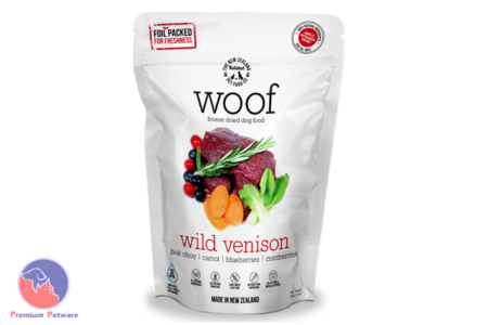 WOOF WILD VENISON - PREMIUM DEHYDRATED DOG FOOD