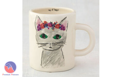 NATURAL LIFE HAPPY MUG - GREY PRAIRIE CAT