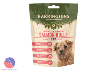 HARRINGTONS DOG SALMON ROLL TREATS
