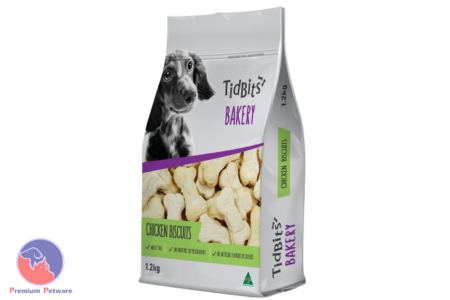 TIDBITS BAKERY DOG TREATS - CHICKEN