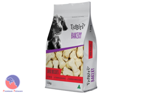 TIDBITS BAKERY DOG TREATS - LIVER