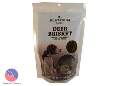 PLATINUM RANCH DEER BRISKET TREAT