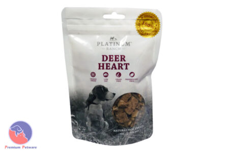 PLATINUM RANCH DEER HEART TREAT