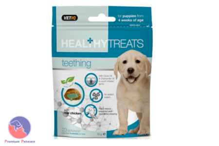 M&C VETIQ HEALTHY TREATS TEETHING FOR PUPPIES