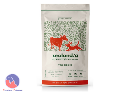 ZEALANDIA  VEAL RIBBIES DOG TREATS