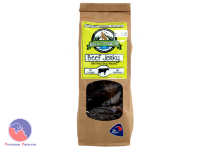 BACK TO NATURE - DRIED BEEF JERKY TREATS