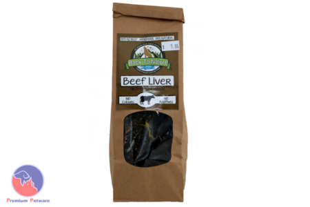 BACK TO NATURE - DRIED BEEF LIVER TREATS