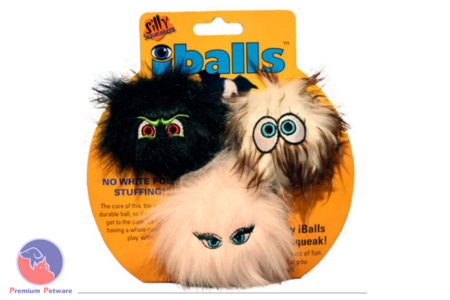SILLY SQUEAKERS IBALLS MINI 3 PACK
